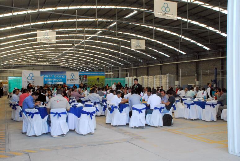 אירוע השקת אתר הייצור של מצר במקסיקו לטפטפות ושלוחות טפטוף